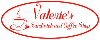 Valeries Sandwich & Coffee Shop Logo